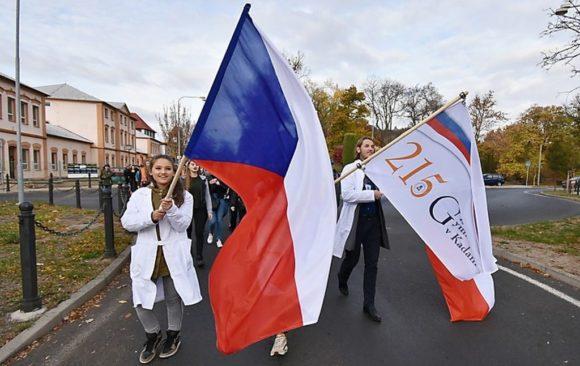 Oslavy 215 let školy a 100 let založení republiky