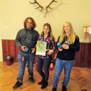 2. a 3. místo v regionálním kole soutěže YPEF (Young People in European Forests)