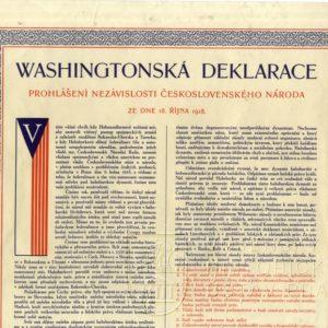 28. října Den vzniku Československa