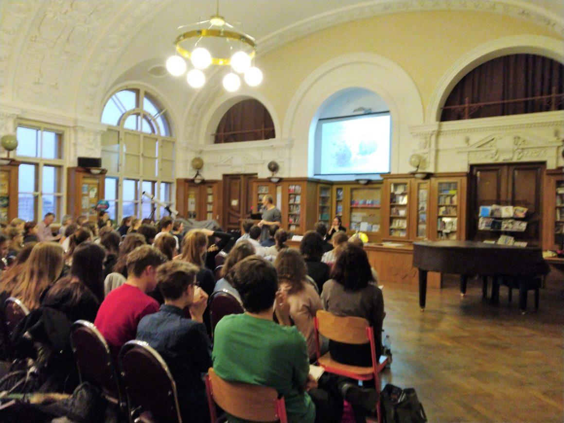 Přednášky k biologické olympiádě pořádané na Gymnáziu v Teplicích