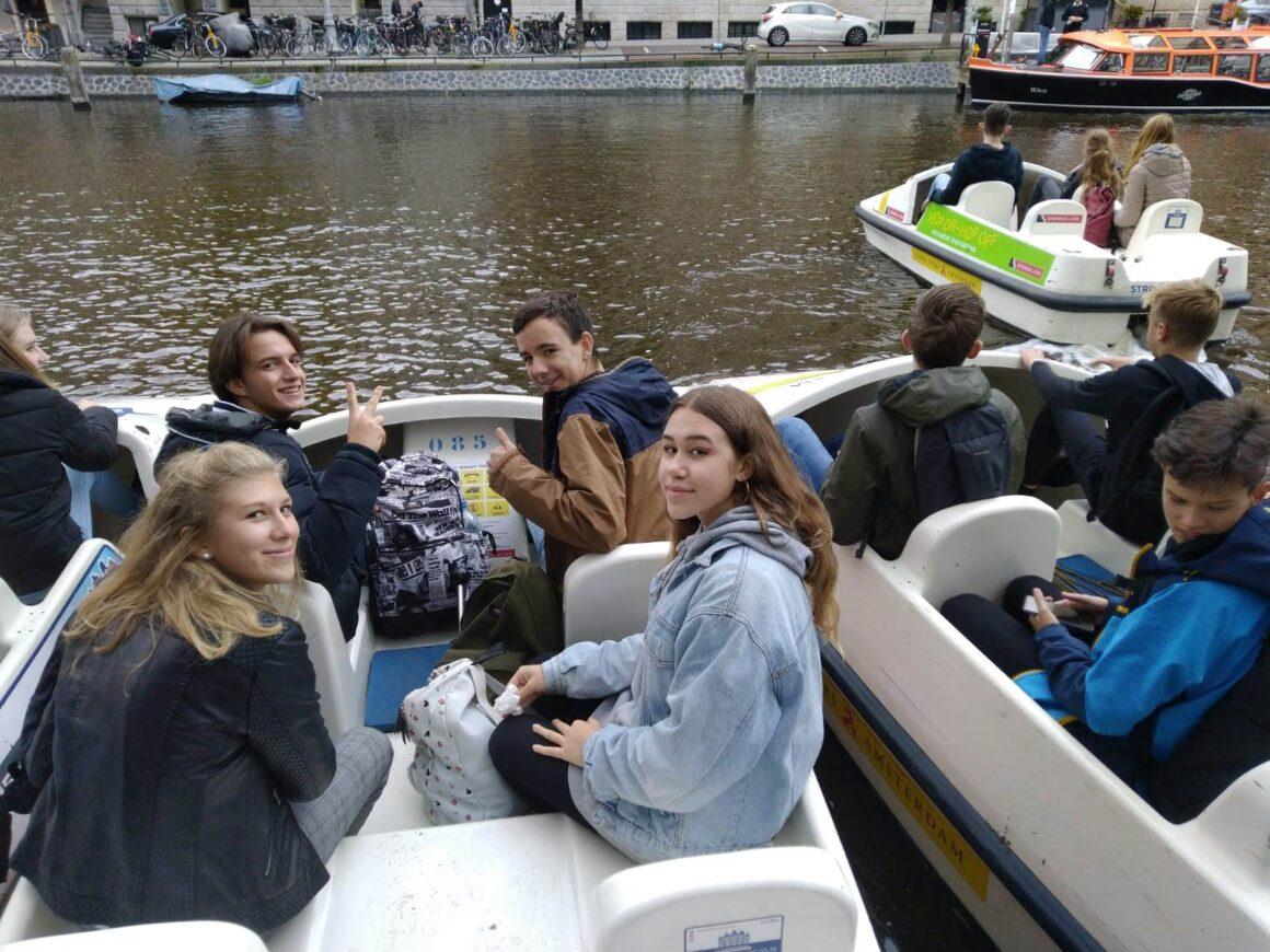 Spolupráce se školou v Nizozemsku pokračuje